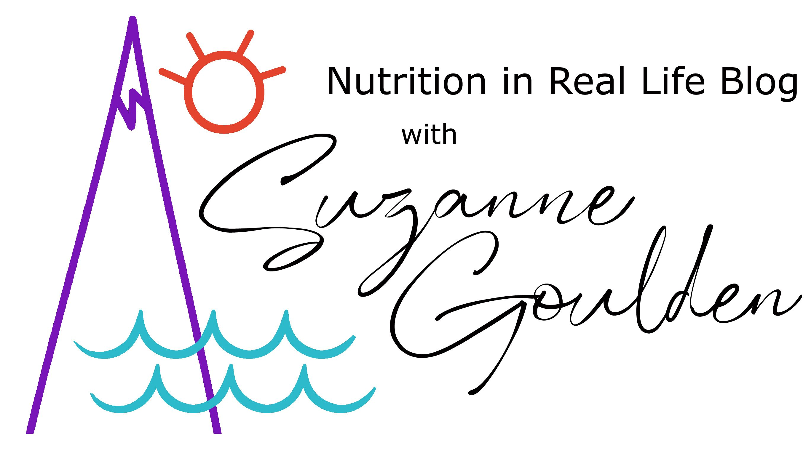 Nutrition in Real Life Blog with Suzanne Goulden